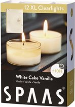 Spaas 12 XL Clearlights White Cake Vanilla