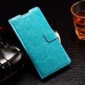 Cyclone cover wallet case hoesje Huawei Honor 5X blauw