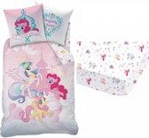 My Little Pony Royally - Dekbedovertrek - Eenpersoons - 140 x 200 cm - Multi - Inclusief Hoeslaken