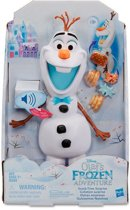 Frozen Snacking and Talking Olaf