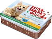 Kattensnoepjes en maaltijden zelf maken boek-box