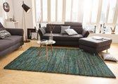 Vloerkleed Nomadic Gestreept Groen 160x230cm