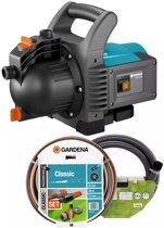 GARDENA Classic besproeiingspomp 3500 4 set 800W 3600 l u incl accessoires