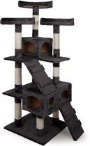 Kattenpaal Krabpaal - Donkerbruin - 175 cm