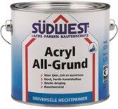 Sudwest All-Grund Acryl Wit 2,5 Liter