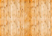Fotobehang Wooden Planks  | L - 152.5cm x 104cm | 130g/m2 Vlies