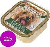 Mister Stuzzy Dog Paté 150 g - Hondenvoer - 22 x Kip