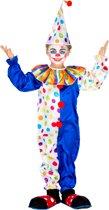 dressforfun 300805 Kinder-/Tienerkostuum Clown Jux voor kinderen 116 (5-6 jaar) verkleedkleding kostuum halloween verkleden feestkleding carnavalskleding carnaval feestkledij partykleding