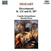 Mozart: Divertimenti K. 131 & K. 287 / Harald Nerat