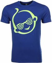 Mascherano T-shirt Zwitsal - Blauw - Maat L