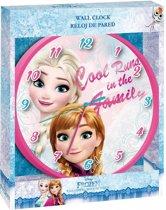 Frozen Elsa & Anna klok  wandklok