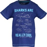 Blue Seven Jongens T-shirt - kobalt blauw - Maat 116