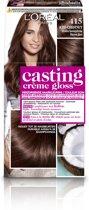 L'Oréal Paris Casting Crème Gloss Haarverf - 415 Kastanjebruin