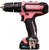 Makita HP331DSAP1 pink accu-klopboor/schroefmachine