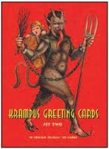 Krampus Greeting Cards Set Two: 20 Assorted Cards in Deluxe Tin