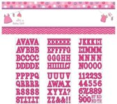 Giant Sign Banner Shower With Love - Girl Personalize It 165x 50.8 cm