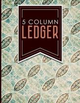 5 Column Ledger