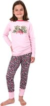 Pyjama Cute Leopards Panther Pink maat 158-164