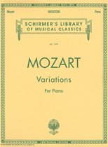 Mozart Variations for Piano