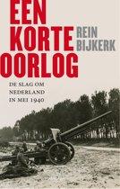 Boek cover Een korte oorlog van Rein Bijkerk