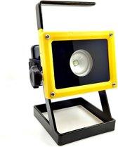 Oplaadbare draadloze LED werklamp - bouwlamp - 30W - drie standen