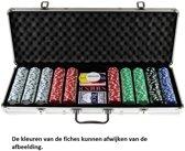 Poker koffer Alu 500 dice-fiches 11.5 gr.