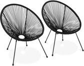 Zwarte Lounge Stoel.Bol Com Zwarte Loungestoel Kopen Kijk Snel