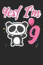 Yes I'm 9