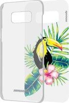 mmoods transparent cover met 1 insert Tropical -  voor Samsung S8