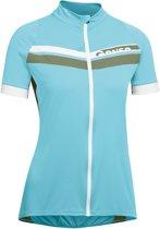 Gonso Belaja Wielrenshirt Dames Fietsshirt - Maat XL  - Vrouwen - blauw/wit/groen