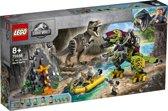 LEGO Jurassic World T. Rex vs. Dinomecha Gevecht - 75938