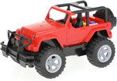 Toi-toys Off-road Buggy Frictie 15 Cm Rood