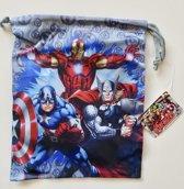Klein gymtasje van Marvel Avengers