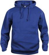 Basic hoody blauw xl