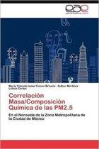 Correlacion Masa/Composicion Quimica de Las Pm2.5