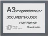 Magneetvenster A3 - Grijs