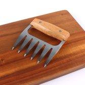 Barbecue Klauw - Snijhulp - pulled pork maken - BBQ gereedschap - vleesklauw - BBQ tools