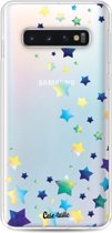 Casetastic Softcover Samsung Galaxy S10 - Funky Stars