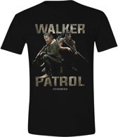 The Walking Dead - Walkers Patrol Mannen T-Shirt - Zwart - S