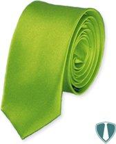 Groene stropdas skinny