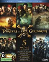 Pirates Of The Caribbean : De complete collectie deel 1 t/m 5 (Blu-ray)