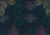 Fotobehang Luxury Brick Wall   XXXL - 416cm x 254cm   130g/m2 Vlies