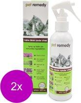 Pet Remedy Spray - Anti stressmiddel - 2 x 200 ml