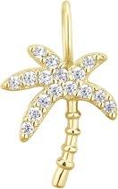 I.Ma.Gi.N. Jewels 925 Sterling Zilveren Goudkleurige Charm Palmtree Hanger  - Goud