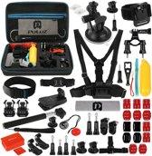 Gopro Accessoire set met 53 accessoires voor GoPro HERO 6 / 5 / 4 Sessie / 4 / 3+ / 3 / 2 / 1 / SJ4000 / SJ5000 / Dazzne / SOOCOO