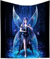 Anne Stokes plaid / deken Enchantment