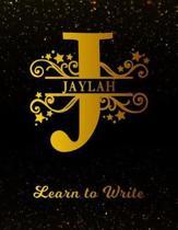 Jaylah Learn To Write