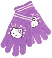 Hello Kitty kinder handschoenen paars