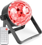 Lichteffect - BeamZ PLS35 Jelly Ball LED lichteffect met afstandsbediening en ingebouwde accu - Overal te gebruiken!