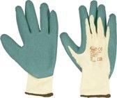 KWB werkhandschoen latex groen/wit L